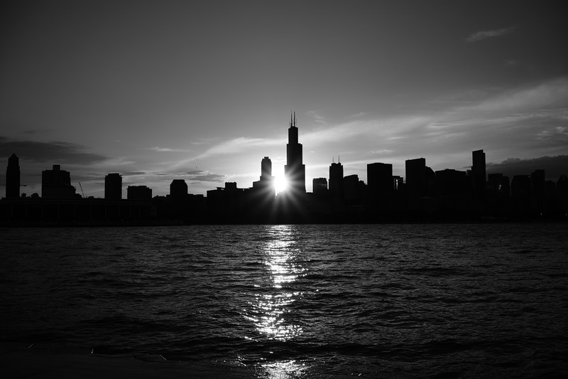 Sun Set in the Skyline