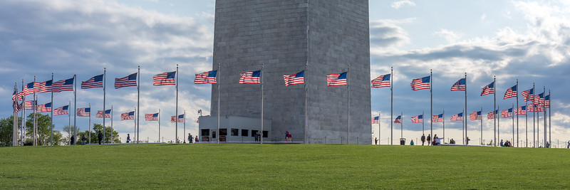 The Flags of the Washington Monument