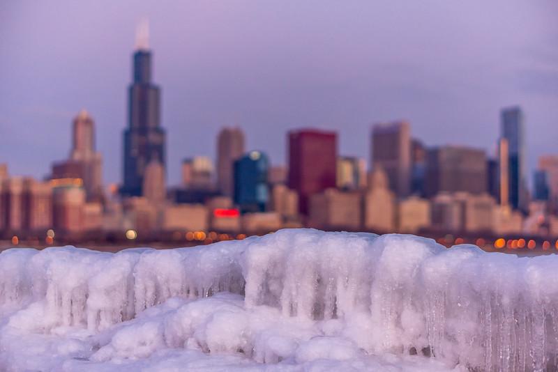 Skyline over Iceline - Chicago