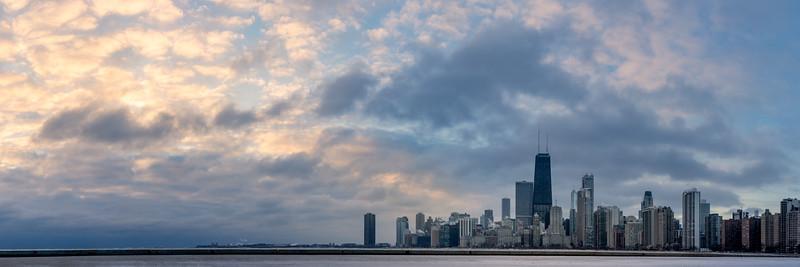 Chicago The breakthrough of warm light