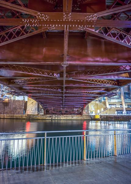 Bridge over the Chicago River