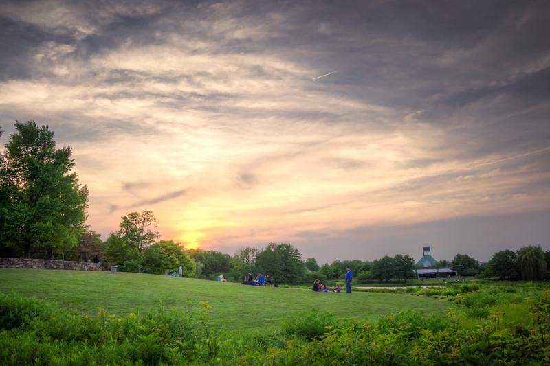 Botanic Garden Sunset