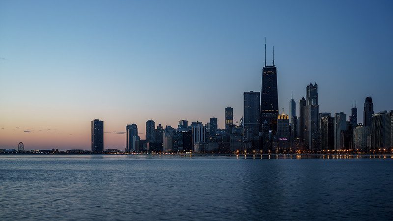 The North Avenue Beach Skyline