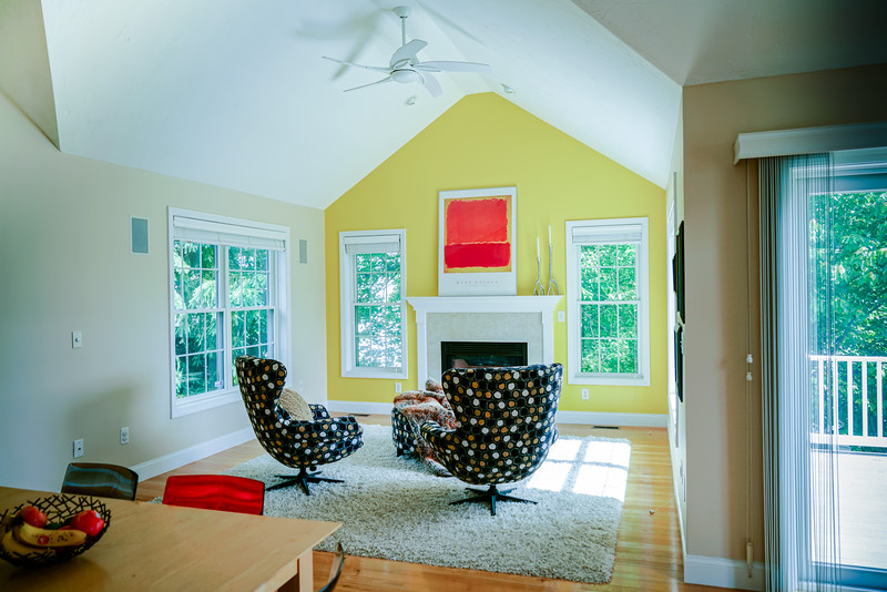 Open plan family room