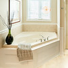 Large Jacuzzi tub and separate shower
