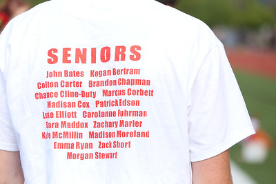 Track vs Woodburn - Senior Day