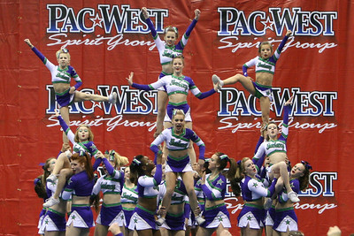 Galaxy Cheer - Tacoma - PacWest 1/26/2008