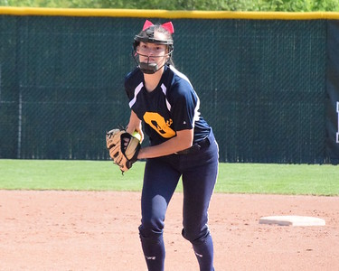 MATTHEW B. MOWERY/The Oakland Press file photo Oxford's Kaitlyn Bean is a Division I honorable mention on the Michigan High School Softball Coaches Association All-State team.