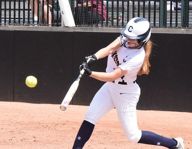MATTHEW B. MOWERY/The Oakland Press file photo Clarkston's Hannah Cady is a first-team Division I honoree on the Michigan High School Softball Coaches Association All-State team.
