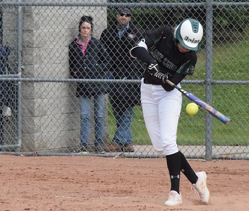 MATTHEW B. MOWERY/The Oakland Press file photo Lake Orion's Tessa Nuss is a Division I honorable mention on the Michigan High School Softball Coaches Association All-State team.