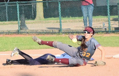 MATTHEW B. MOWERY/The Oakland Press file photo Farmington Hills Mercy's Nicole Belans (32) is a first-team Division I honoree on the Michigan High School Softball Coaches Association All-State team.