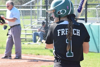 MATTHEW B. MOWERY/The Oakland Press file photo Waterford Kettering's Madison French is a Division I honorable mention on the Michigan High School Softball Coaches Association All-State team.