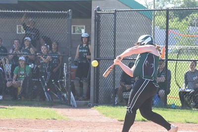 MATTHEW B. MOWERY/The Oakland Press file photo Lake Orion's Shelby Misiak is a first-team Division I honoree on the Michigan High School Softball Coaches Association All-State team.