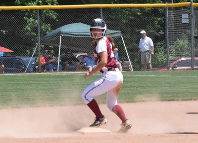 MATTHEW B. MOWERY/The Oakland Press file photo Walled Lake Northern's Hannah Bunker is a first-team Division I honoree on the Michigan High School Softball Coaches Association All-State team.