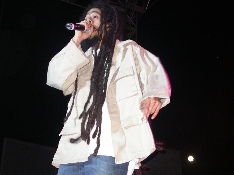 Damian Marley by Shirley Twyford (Webmoment Photo)