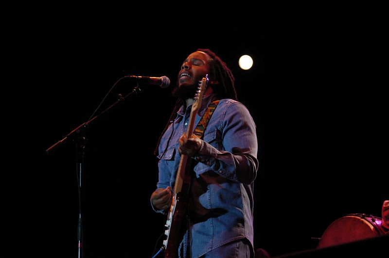 Ziggy Marley by Nico Potterat (Webmoment Photo)