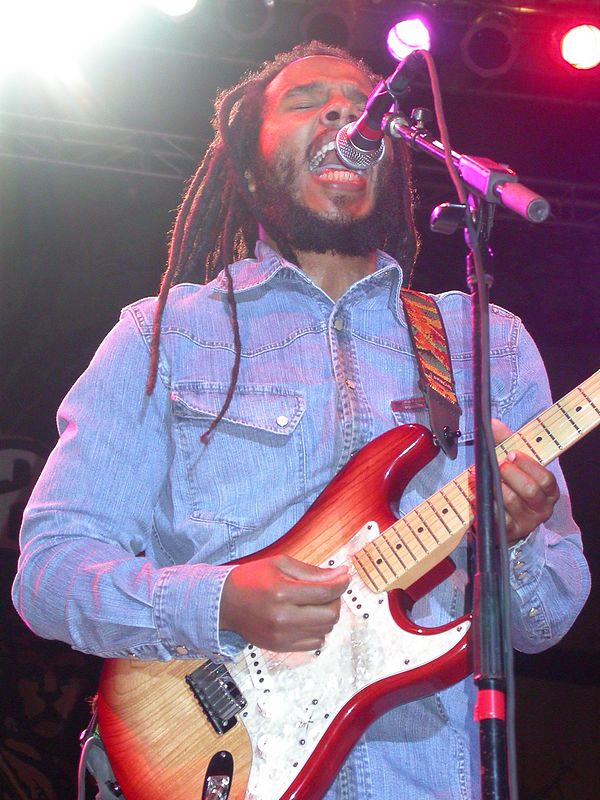 Ziggy Marley by Shirley Twyford (Webmoment Photo)