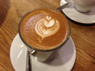 A decent latte