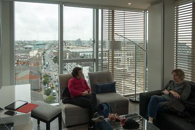 Our apartment in Dublin - 11th floor views