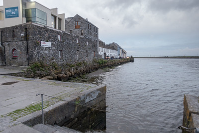Galway harbor and part of the old Spanish Gate