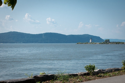 Lighthouse on the river at Tarrytown