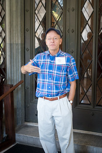 Our docent, Peter