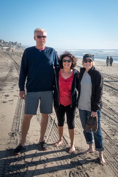 Del Mar visit with Leslie & Anders - Feb 2015