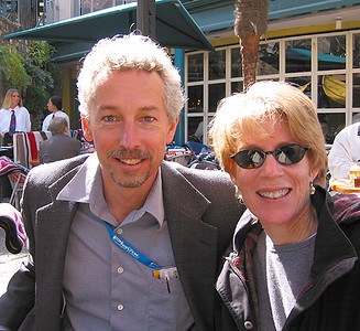 Ray & Kathy on the Riverwalk