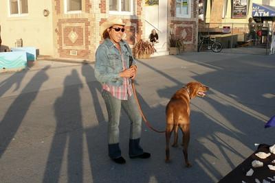 Val & Rex in Venice Beach