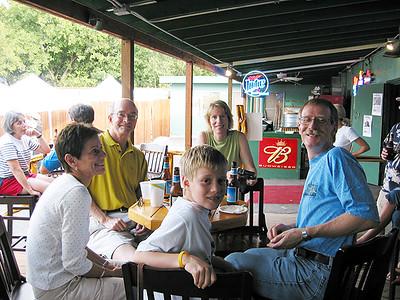 Ginny, John, Erik, Kathy and Simon