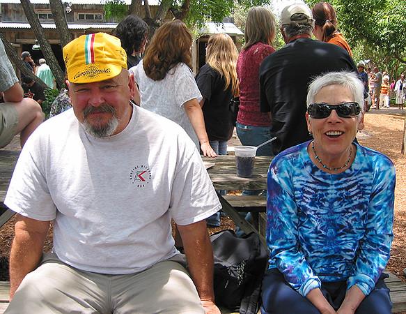 Bob & Deb in Gruene TX