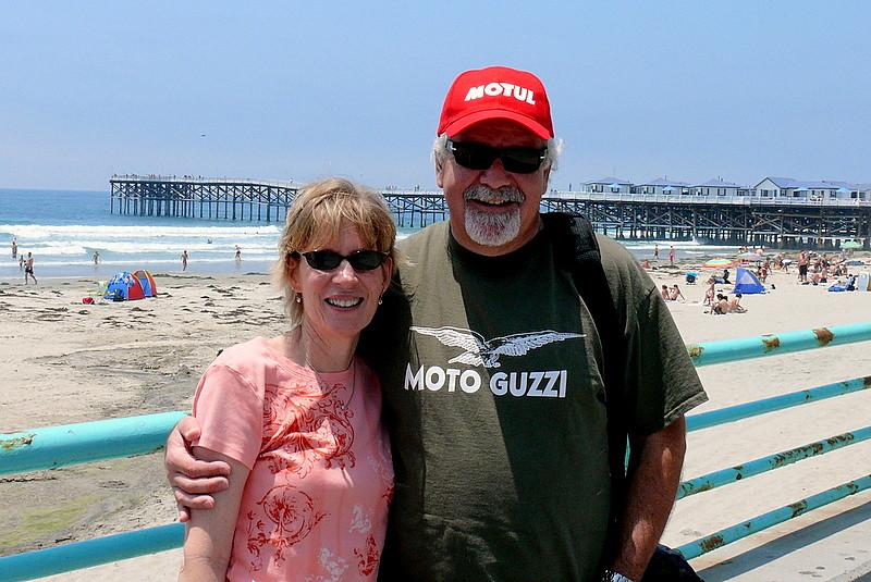 Kathy & Corey at Pacific Beach