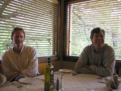 Sean & Steve at Aldo's
