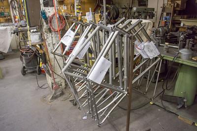 Custom titanium frames