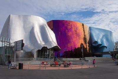Frank Gehry designed EMP museum