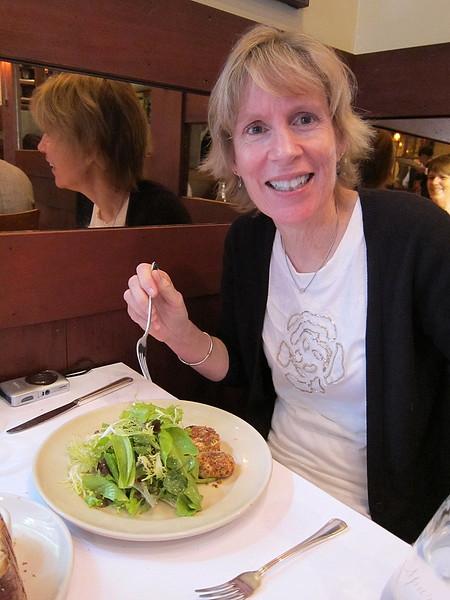 IMG_0415 - Warm goat cheese salad at Chez Panisse