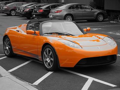 IMG_0511 - An Orange Tesla
