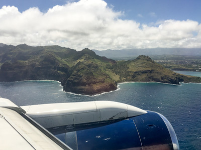 Kauai comes into view