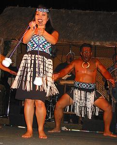 Dancing  Maori