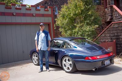 Mark & his Porsche