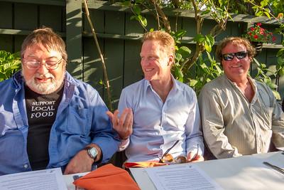 David, Fred & Peter at the Panama Hotel