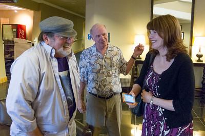 David, Kary and Nancy Mullis