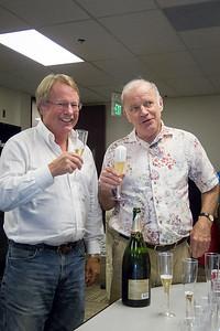 Ron & Kary raise a toast