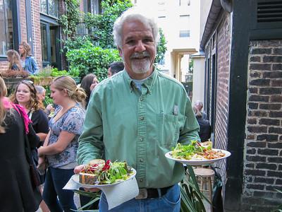 Jim Haynes' dinner party