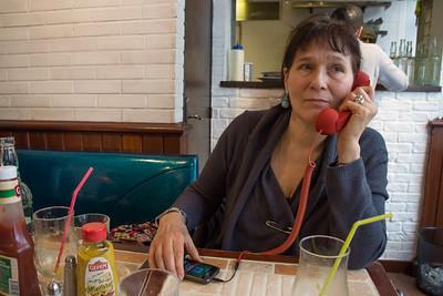 Sasha on the hotline
