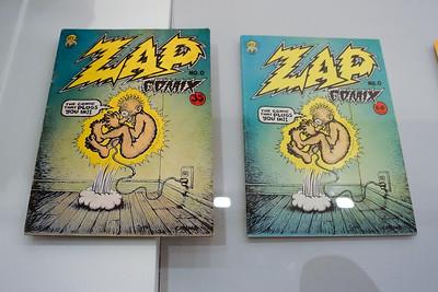 Donald's version (left) predates the museum's version