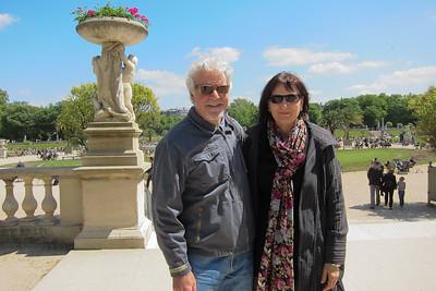 Corey & Sasha - Luxembourg Gardens