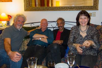 Corey, Donald, Mark & Sasha