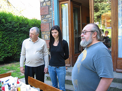 Alex, Edina & Steve