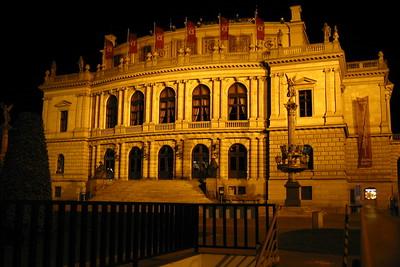 Symphony Hall at night